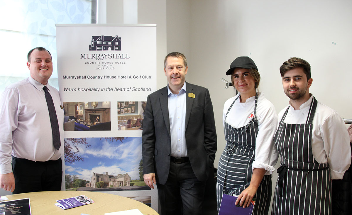 Students benefit from employers event