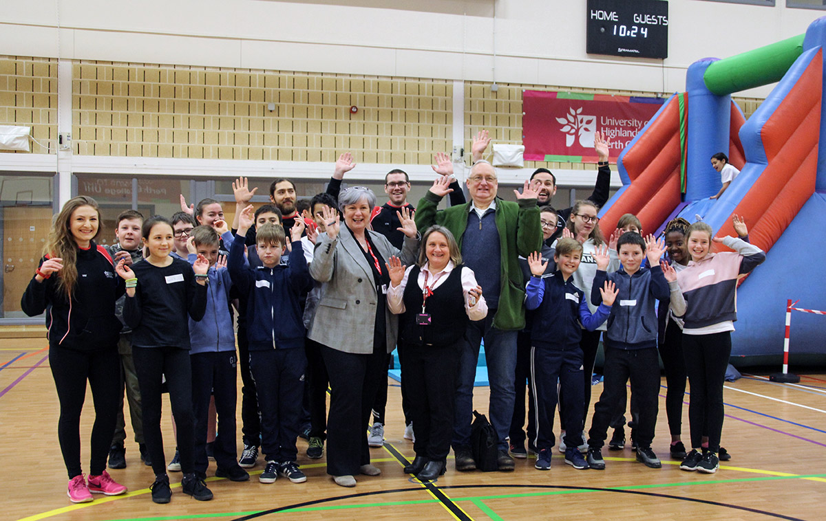 Sport and Fitness students run health event for school pupils