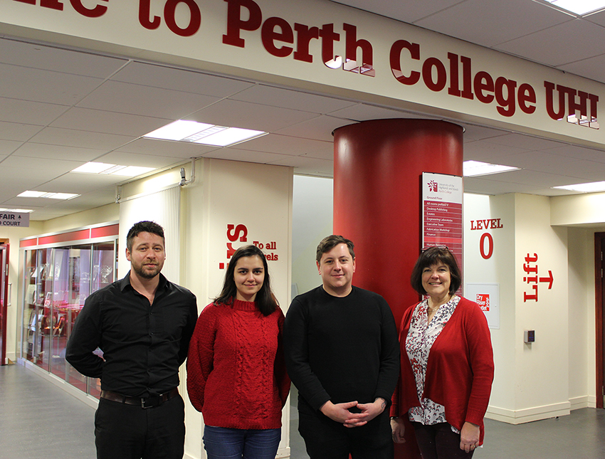 Help Musicians Scotland launch panel at Perth College UHI