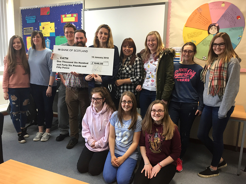 Students raise over £1,500 in charity 'Sleep Out'