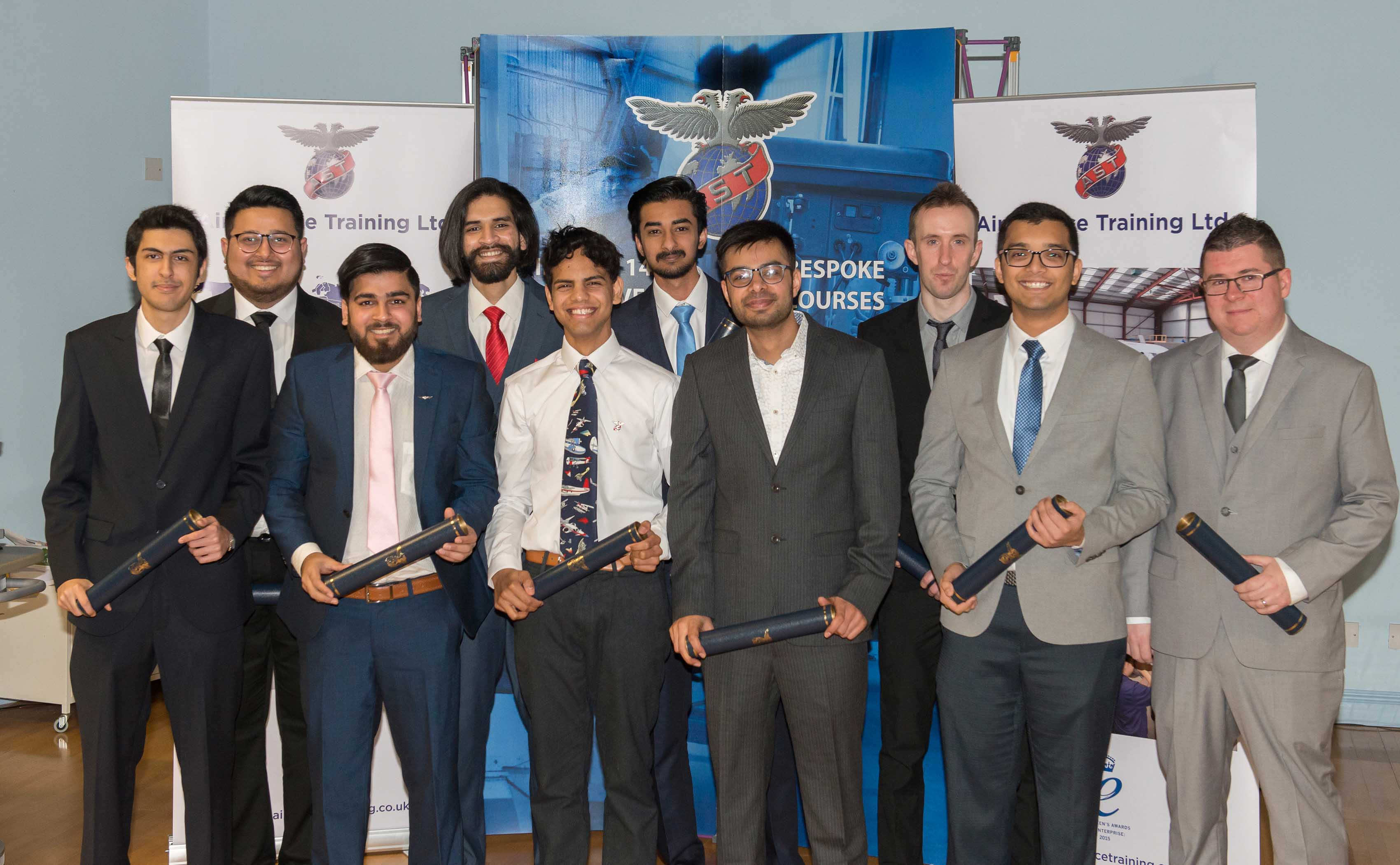 Students graduate from Aircraft Maintenance course