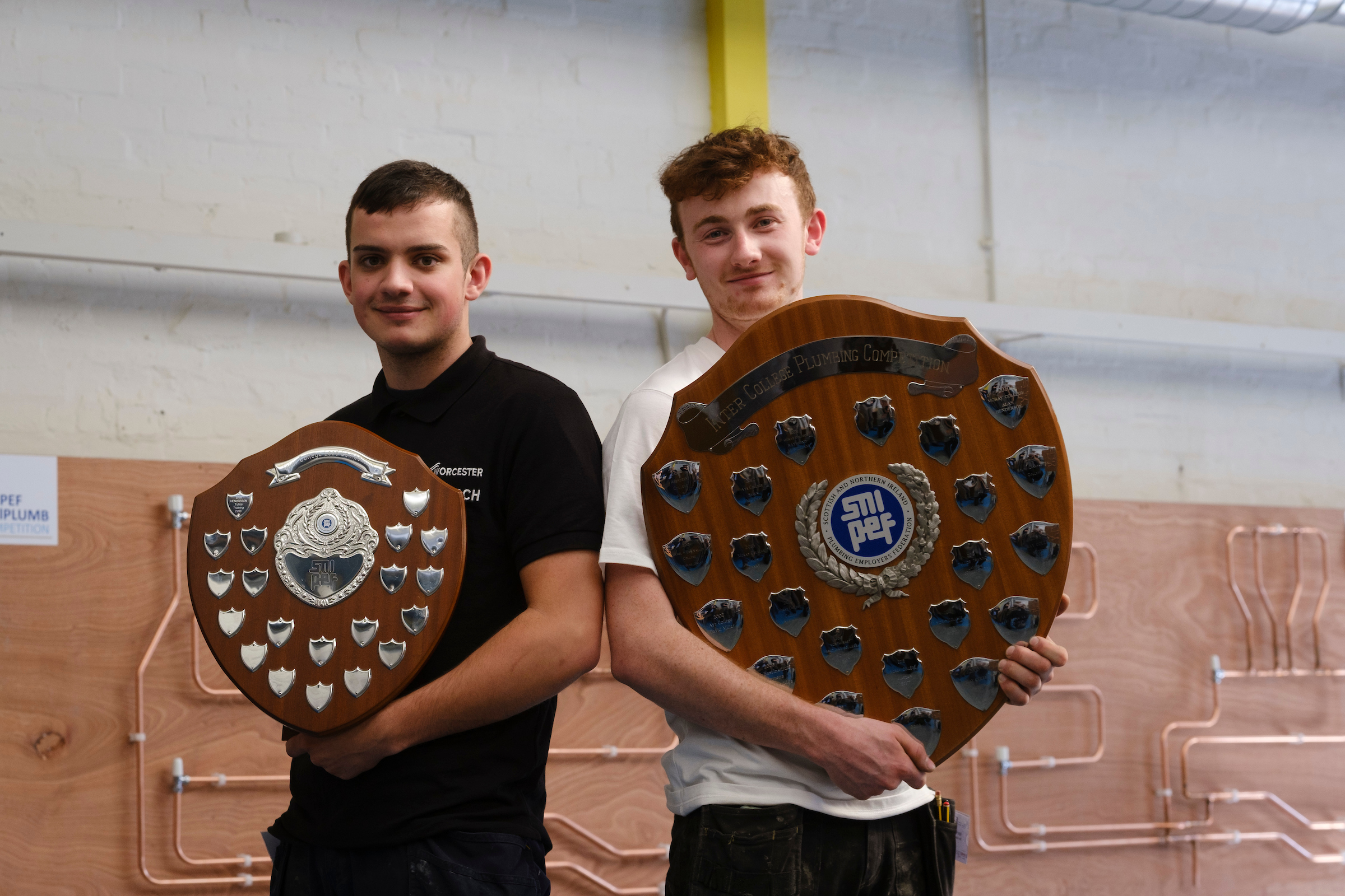 Perth apprentices top national plumbing competition