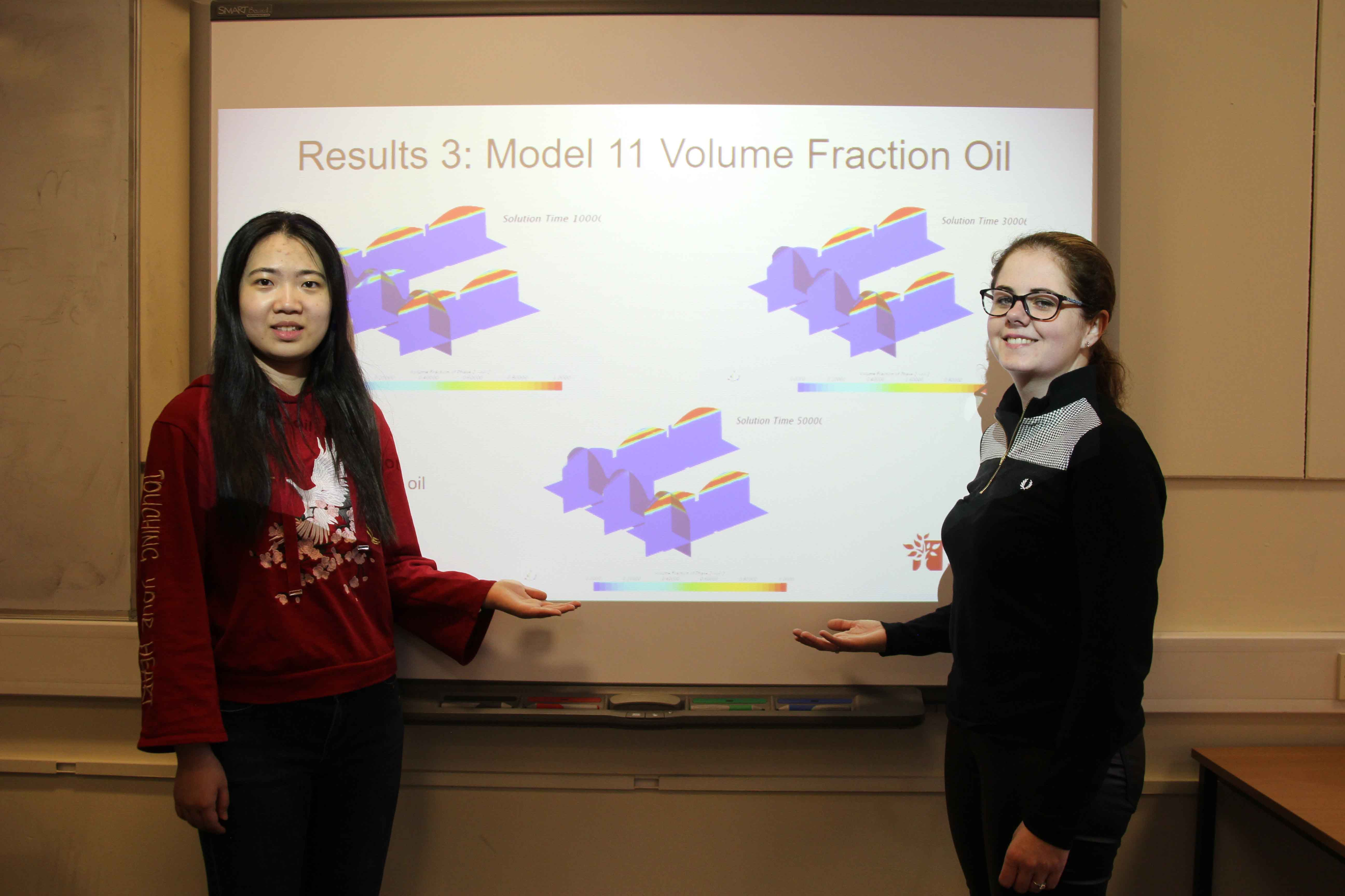 Engineering students help develop oil industry