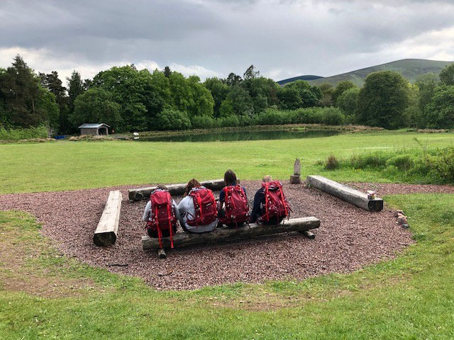 Young students benefit from the DofE Diamond fund