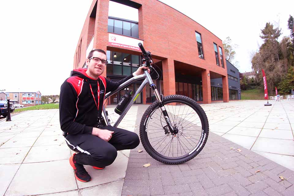 Lewis is first Campus Cycling Officer