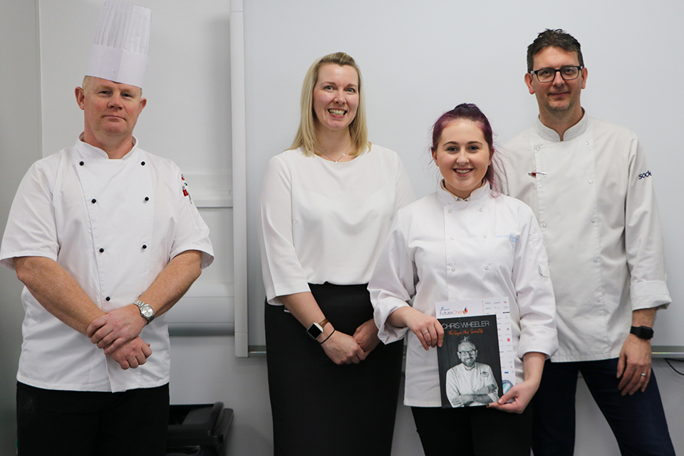 College supports search for young culinary star