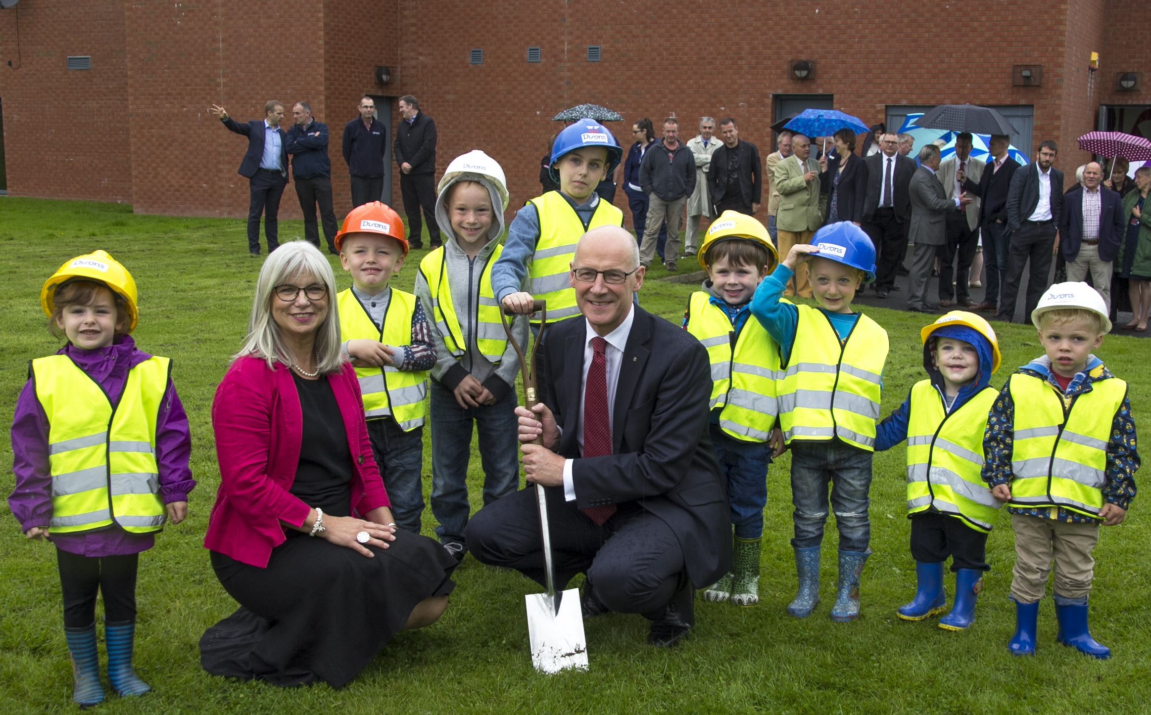 Academy of Sport and Wellbeing Celebrated with Turf Cutting