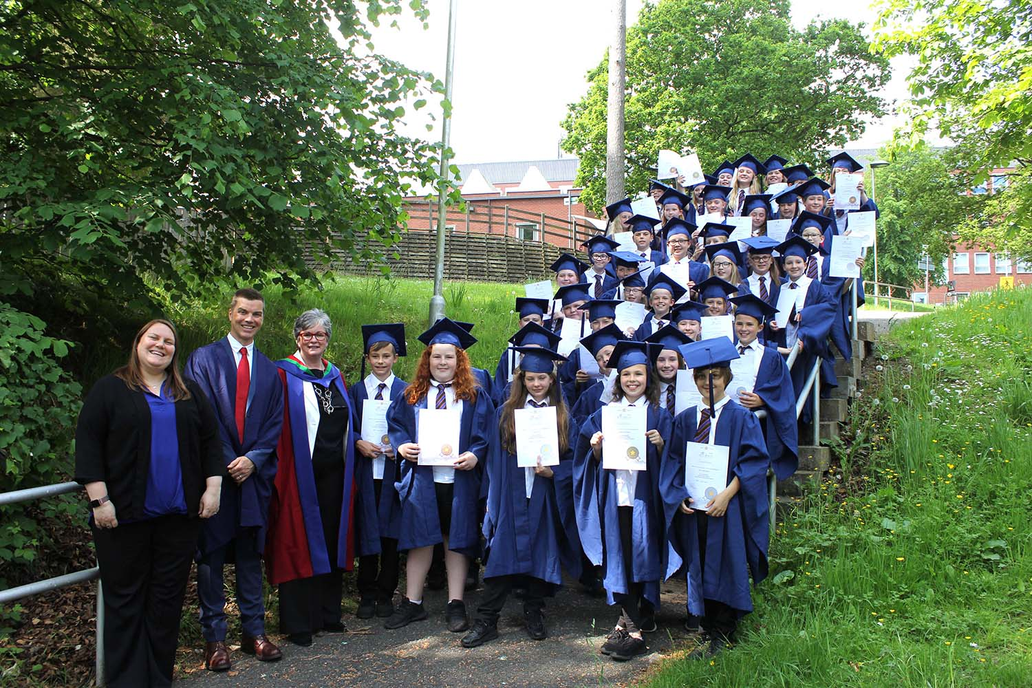Tulloch Primary School pupils are first graduates from Children's University in Perth and Kinross