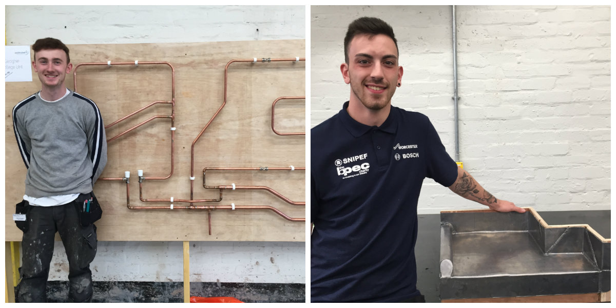 Students success at SkillPLUMB competition