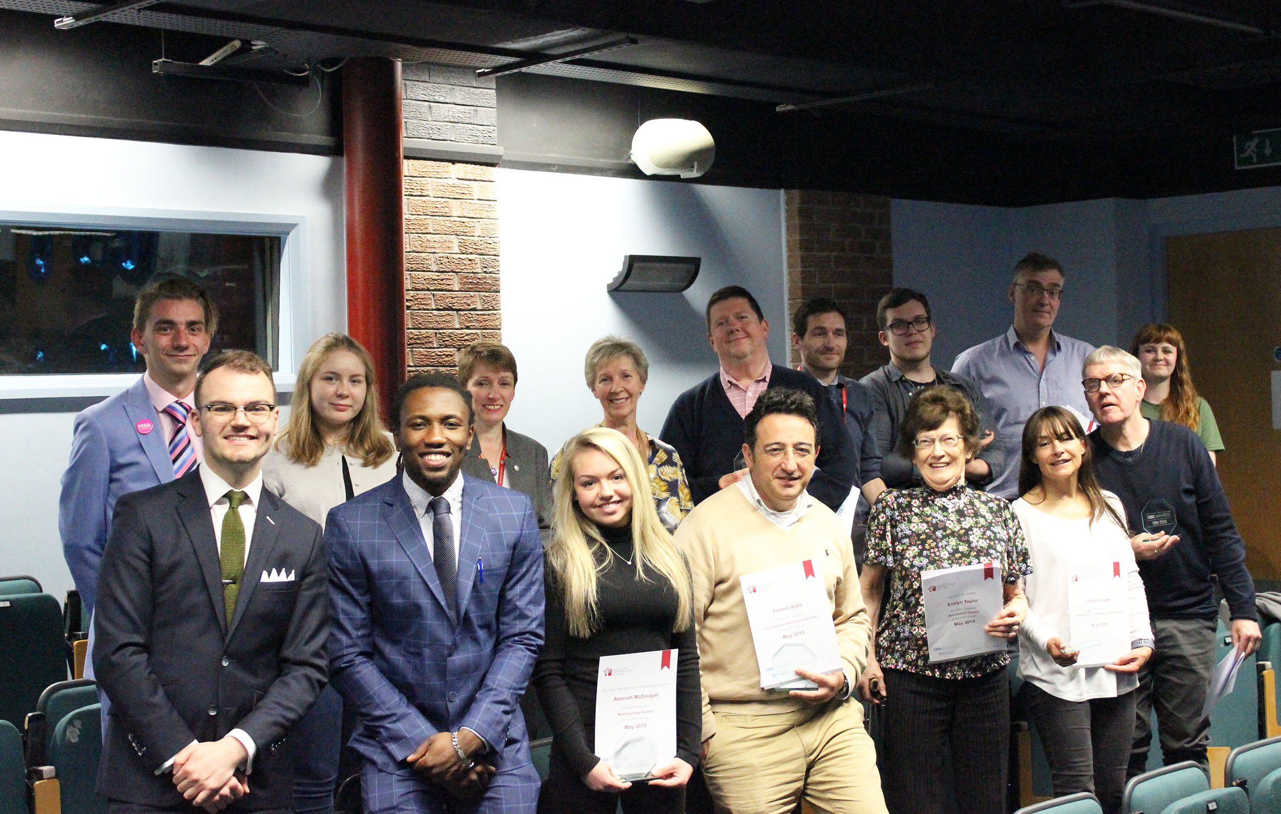 Students and staff celebrate annual HISA Perth OBI Awards