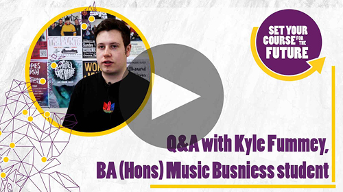 ba hons music business kyle fummey q and a video